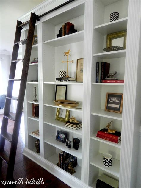 bookcases with ladder 15 collection of bookcases with ladder and rail