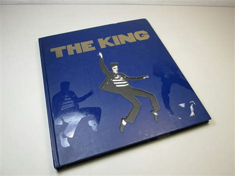 coffee table book the king jim piazza elvis hc