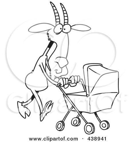 nanny goat coloring page nanny pictures clip art 66