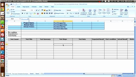 tester best of templates 9 software test plan template excel rapit templatesz234