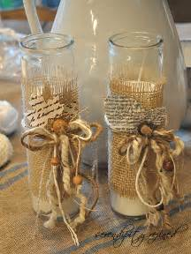 Decorating Vases With Glitter Twc Decorating With Burlap