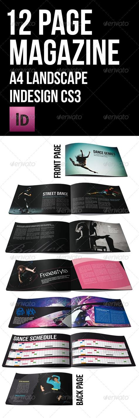 12 page brochure template 109 best images about print templates on fonts