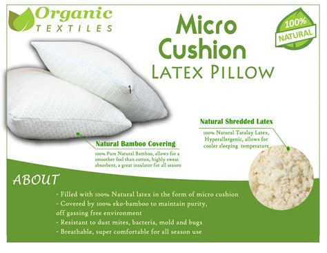 Best Cotton Sheet Sets by Shredded Latex Pillow Covered By Soft Bamboo Rayon