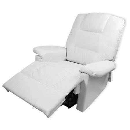 white leather recliner chair comfortable pu leather lounge chair recliner with