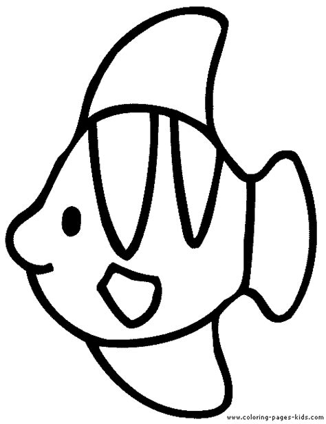 Bass Fish Outline Coloring Page Coloring Pages Fish Outline Coloring Page