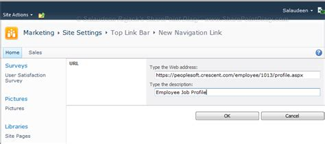 sharepoint top link bar sharepoint top navigation link open in new window