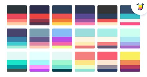 what colors go best together color hunt beautiful color palettes