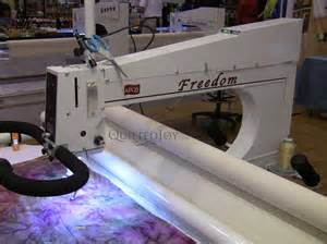 used arm quilting machine from apqs