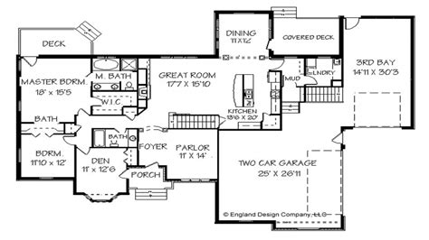 Ranch Style Floor Plan by Ranch Style House Floor Plan Design Modern Ranch Style