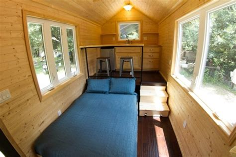tiny house studio man builds 160 sq ft studio tiny house for sale