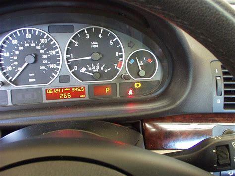 bmw e46 brake warning light bmw 320i 2005 brake pad wear warning sensors