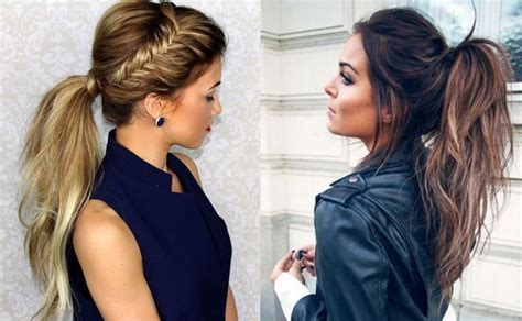 ponytail for rebonded hair 30 simple easy ponytail hairstyles for lazy girls