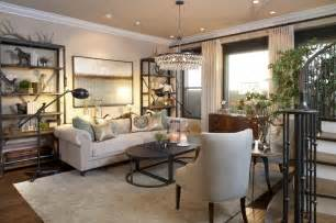 Transitional Style Living Room - vibrant transitional living room before and after san diego interior designers