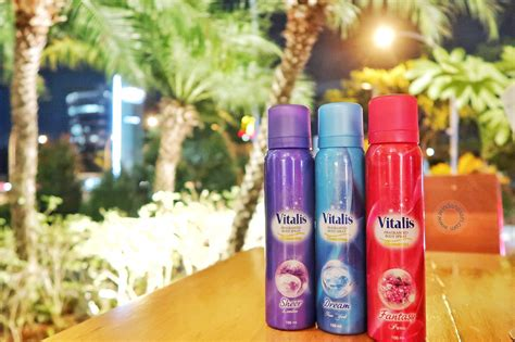 Parfum Vitalis Kecil be glamourous with vitalis aerosol spray georgeous spell