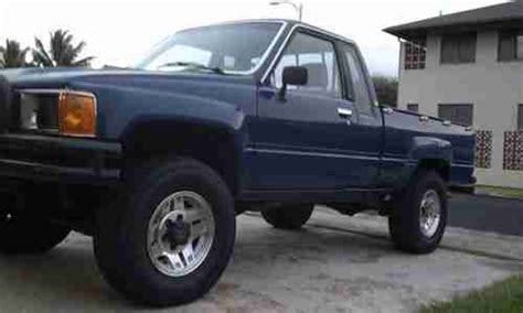 86 Toyota 4x4 Find Used 1986 Toyota 4x4 Xtra Cab 22rte Turbo A T