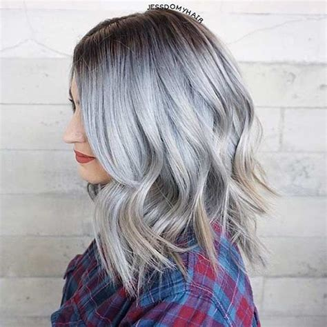 gray shoulder length bob 22 best images about asian pastel hair on pinterest
