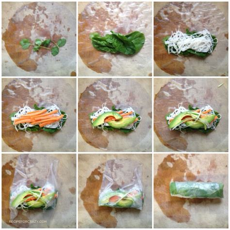 How To Fold Rice Paper Rolls - recipe for rolls
