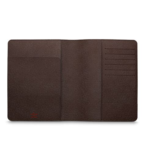 Cover Desk by Desk Agenda Cover Damier Ebene Canvas Small Leather Goods Louis Vuitton