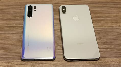 huawei p pro  apple iphone xs max compared finder