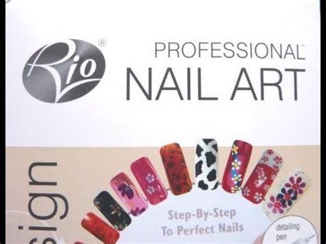 rio nail art tutorial rio professional nail art kit product review and