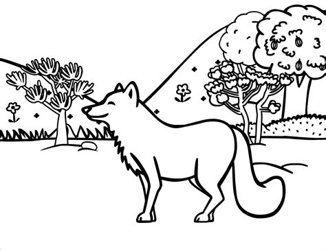 christmas fox coloring page free printable fox coloring pages for kids