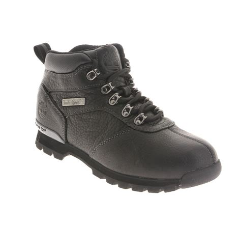 Timberland Leather Black Sol bruxelles timberland