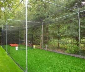 backyard batting cage my house will