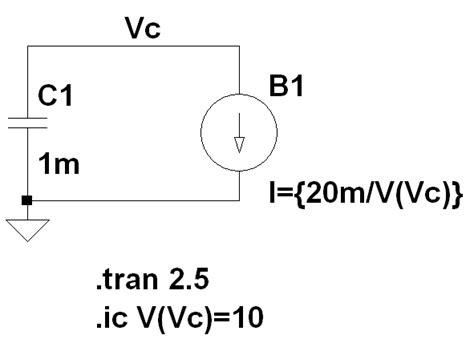 capacitor discharge calculator constant power constant power capacitor discharge