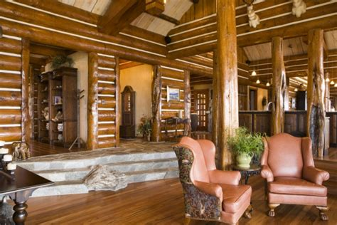 beautiful log home interiors beautiful log home photo gallery