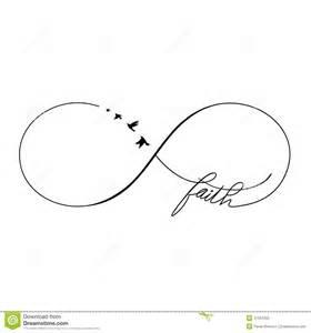 Infinity Faith Symbol Infinity Faith Stock Vector Image 47261202