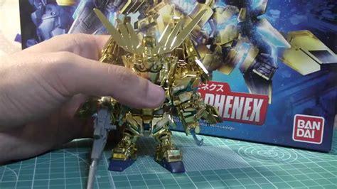 Sd Unicorn Phenex Bandai sd unicorn gundam 03 phenex review