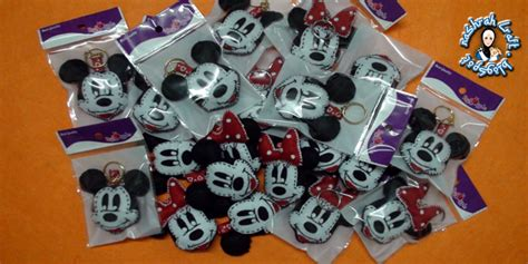 Ke 009 Keychain Mickey Mouse nashrah craft starterkit keychain mickey minnie