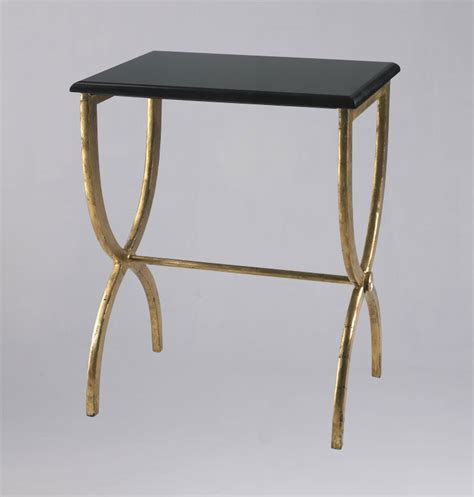 Iron Side Table Black Marble And Iron Side Table By Cyan Design
