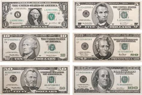 new year us dollar bill banknotes for the visually impaired david airey