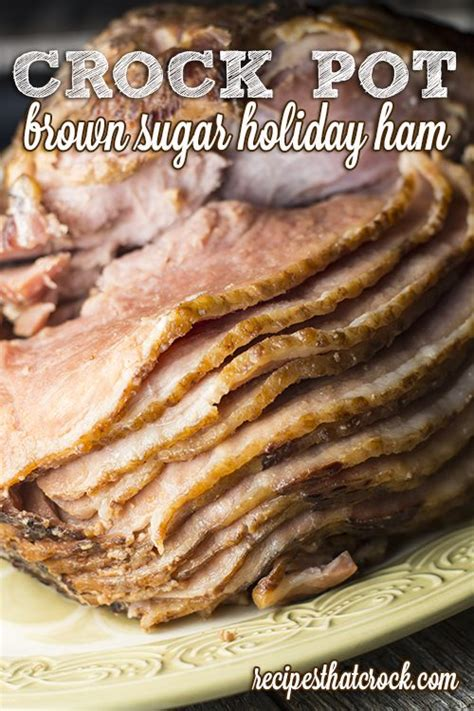 how to cook ham recipes that crock