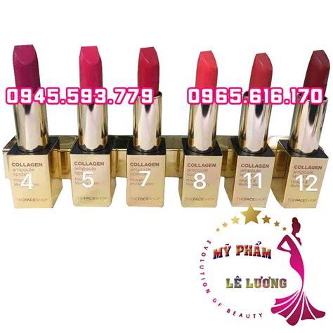 Lipstick Collagen collagen oule lipstick mỹ phẩm x 225 ch tay h 224 n quốc