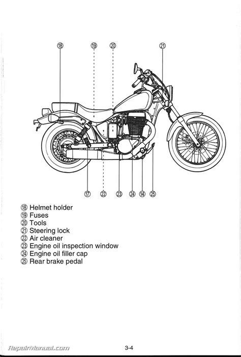 Suzuki S40 Manual 2009 Suzuki Boulevard S40 Ls650 Motorcycle Owners Manual