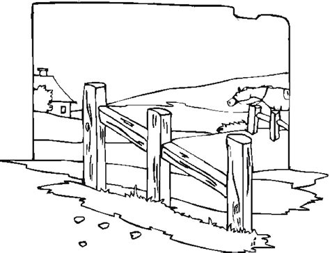 coloring pages of horse stable free coloring pages
