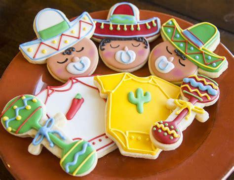 decorar galletas para un baby shower cinco de mayo cookies cinco de mayo baby shower