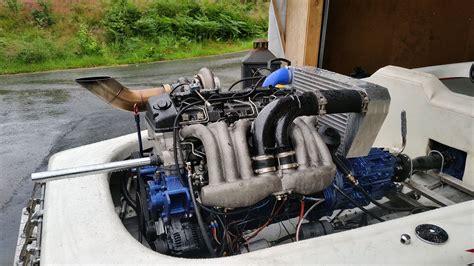 boat engine upgrades ski boat with a mercedes turbo diesel i6 engine swap depot