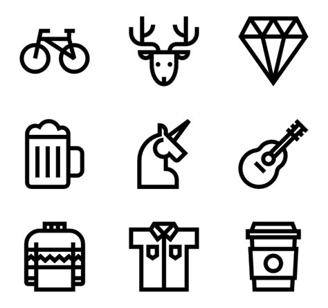 hipster tattoo font generator 20 hipster icon packs vector icon packs svg psd png