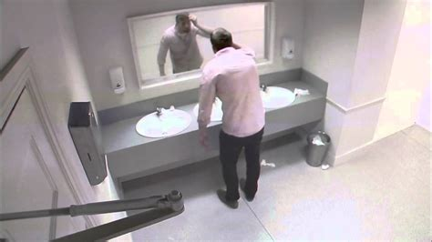 bathroom accidents startling pub loo shocker ad aims to dissuade drunk drivers
