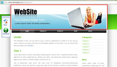 membuat template website dengan html dan css source code cara membuat template website php css html