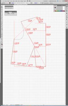 pattern making internship pattern drafting how to for a trapeze dress sewing