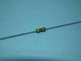 resistor 100 ppm metal resistor is available with 100 ppm tcr value