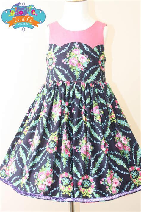 Handmade Dresses Australia - handmade dress size 4 la le creations madeit