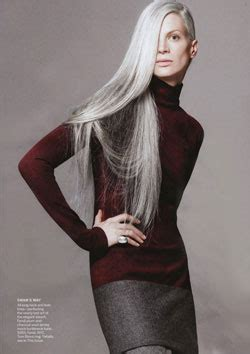 hair with grey models grey hair as fleeting trend or social statment huffpost