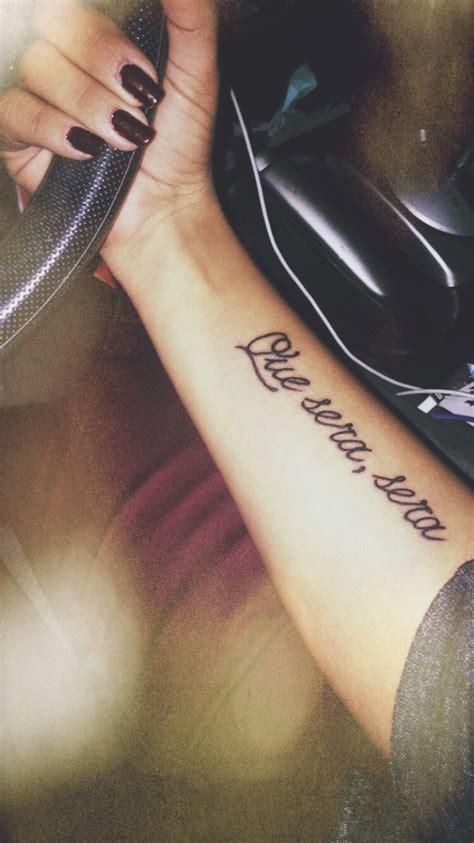 que sera sera tattoo designs que sera sera newest thank you heritage for