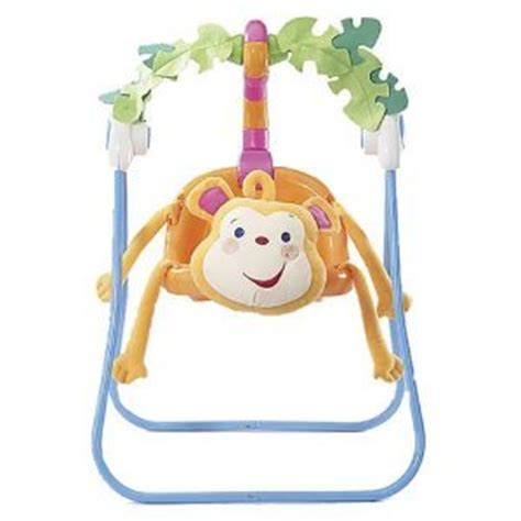 fisher price animal swing fisher price rainforest animals 2 in 1 monkey doll swing