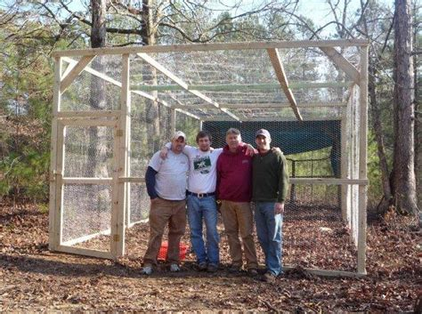 how to build a backyard batting cage my home page backyard chickens